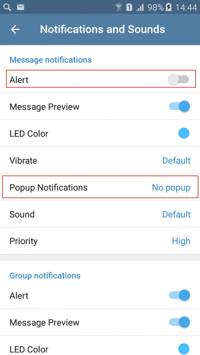 Как выключить уведомления в Телеграме для смартфона - инструкция
