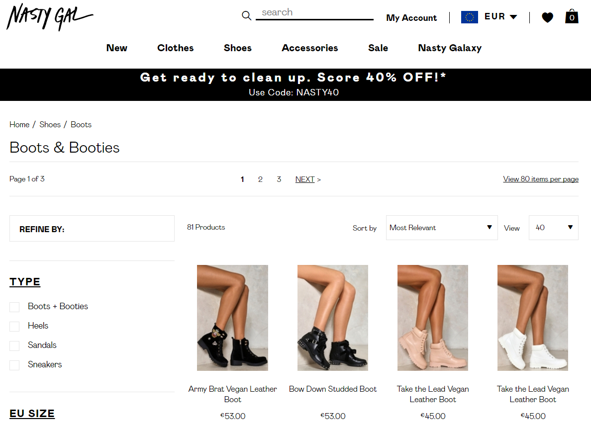 София Аморусо построила многомиллионный бизнес на продаже винтажной одежды