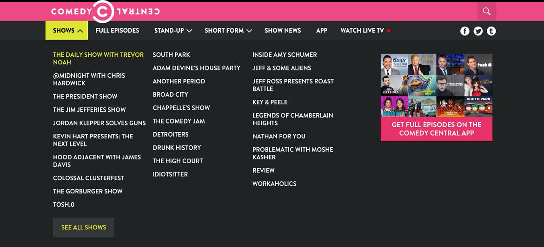 The Daily Show with Trevor Noah самая рейтинговая передача канала Comedy Central