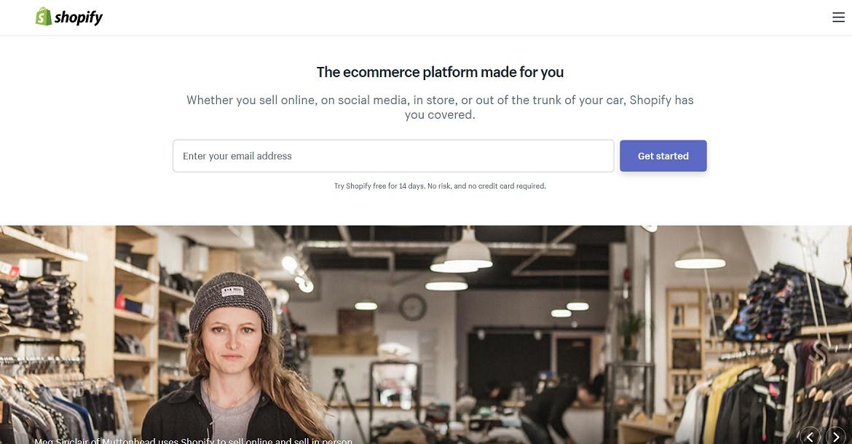 Платформа для электронной коммерции