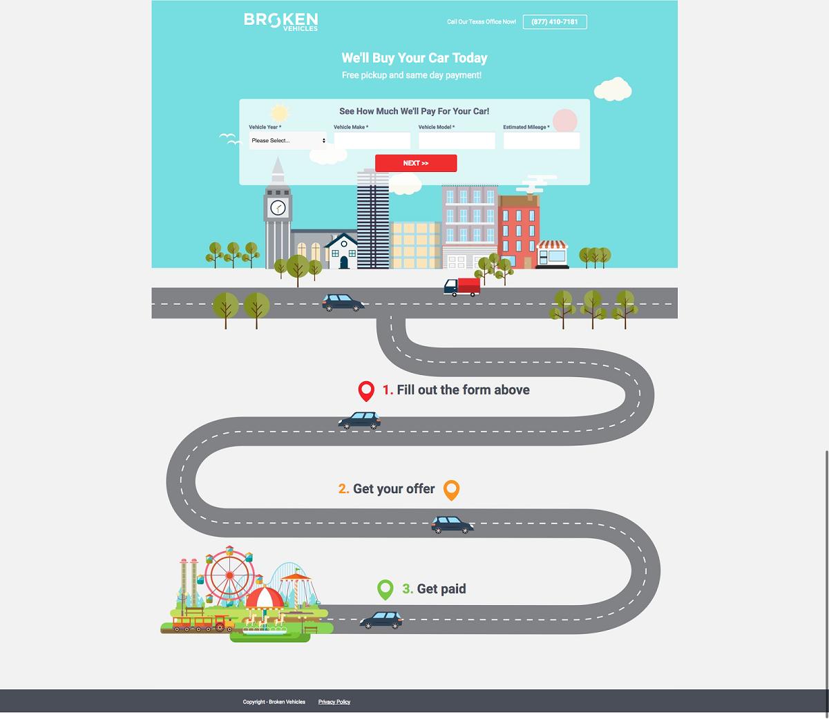 Редизайн сайта с уникальными иллюстрациями