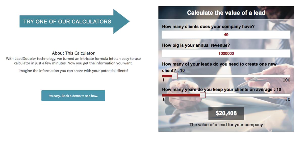 Калькулятор стоимости лида