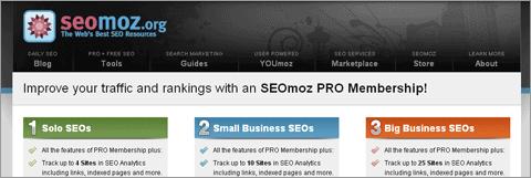 Увеличьте трафик и позиции с возможностями SEOmoz PRO!