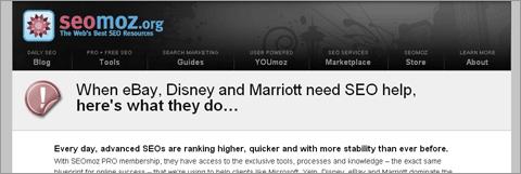 Когда eBay, Disney и Mariott требуется помощь SEO-специалистов, вот что они делают…